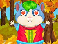 Jeu Coiffer et habiller son hamster