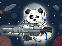 Jeu Panda vs. Aliens