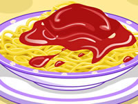 Jeu gratuit Spaghetti bolo