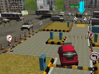 Jeu Driving License Test 3D