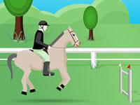 Jeu Sauts d'obstacles avec son cheval