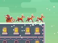 Jeu Super Santa Rush