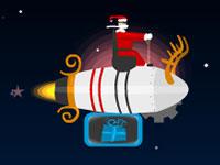 Jeu Santa's Rocket