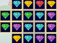 Jeu gratuit Combinaisons de pierres précieuses