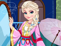 Jeu Elsa (Frozen) part en Chine