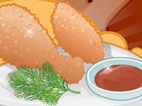 Jeu gratuit Recette de poulet grillé