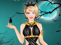 Jeu Barbie Princesse d'Halloween