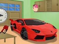 Jouer à Ru00e9parer une voiture de sport