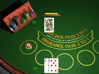 Jeu Jouer au Blackjack au casino