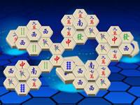Jeu Mahjong Hexagonal