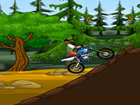Jeu Moto dans la jungle