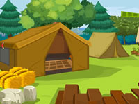 Jeu Holiday Tent House Escape