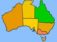 Jeu Les provinces d'Australie