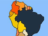 Jeu Les pays d'Amérique du Sud
