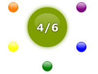 Jeu Le cercle chromatique