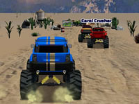 Jeu Rallye en Monster Truck