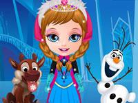 Jouer à Bu00e9bu00e9s La Reine des Neige