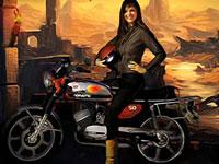 Jeu gratuit Moto Tomb Racer 2