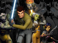Jouer à Star Wars Rebels - Ghost Raid