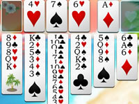 Jeu gratuit Freecell Summer Holiday