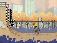 Jeu Aller au Skatepark
