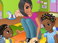 Jouer à Nia fait du baby-sitting