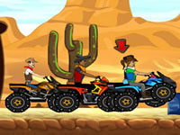 Jeu Cow-boys en quad