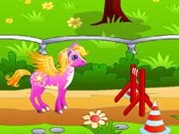 Jouer à Course de poneys magiques