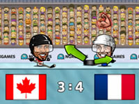Jeu Puppet Ice Hockey