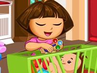Jeu Dora L'exploratrice et sa soeur
