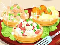 Jouer à Savoureuses tartelettes salu00e9es