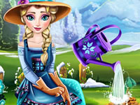 Jouer à Elsa et la fleur des glaces