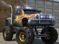 Jeu Garer un Monster Truck en ville