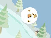 Jouer à La boule de neige gu00e9ante