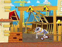 Jeu Sauvetage sur un chantier