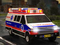 Jeu Garer une ambulance