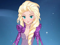 Jouer à Elsa cru00e9e des vu00eatements