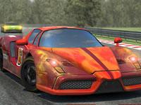 Jeu Course de voitures sur circuit 3D