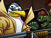 Jouer à Zombies vs Penguins 3
