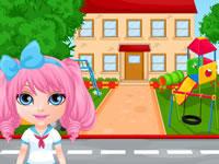 Jouer à Chasse au tru00e9sor avec Bu00e9bu00e9 Barbie