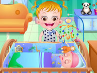 Jeu Bébé Hazel et le vaccin