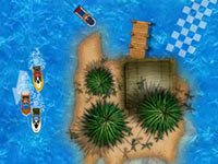 Jeu Tournoi de jet-ski des îles