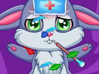 Jeu Le docteur des bébés animaux