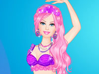 Jeu Barbie Mermaid Dress-Up