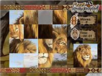 Jeu Puzzle Safari