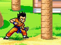 Jeu Dragon Ball Z Timberman
