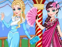 Jouer à La Reine des Neiges part en Inde