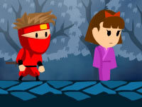 Jeu Rekido - Red Kid Ninja Princess Rescue