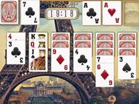 Jeu Paris Solitaire