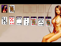 Jeu Sexy Solitaire